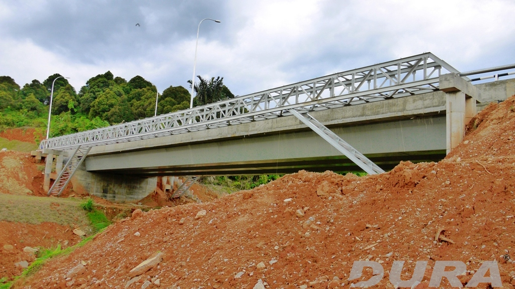 Completed 51m long Titi bridge.