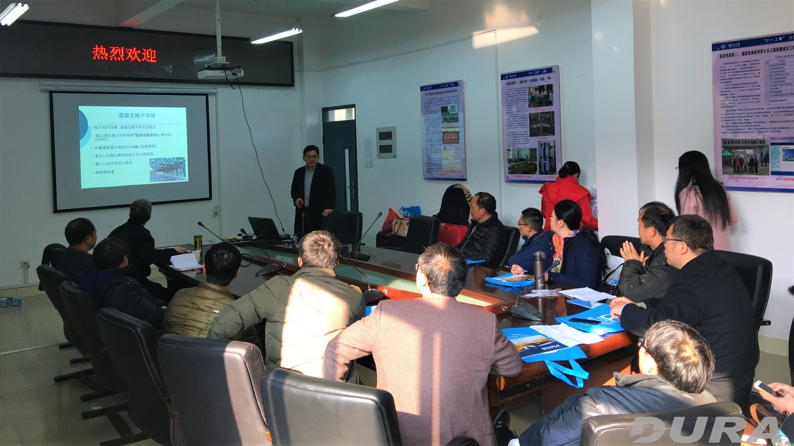 Presentation at School of Civil Engineering, Fuzhuo University by Dr Voo, Dura.
