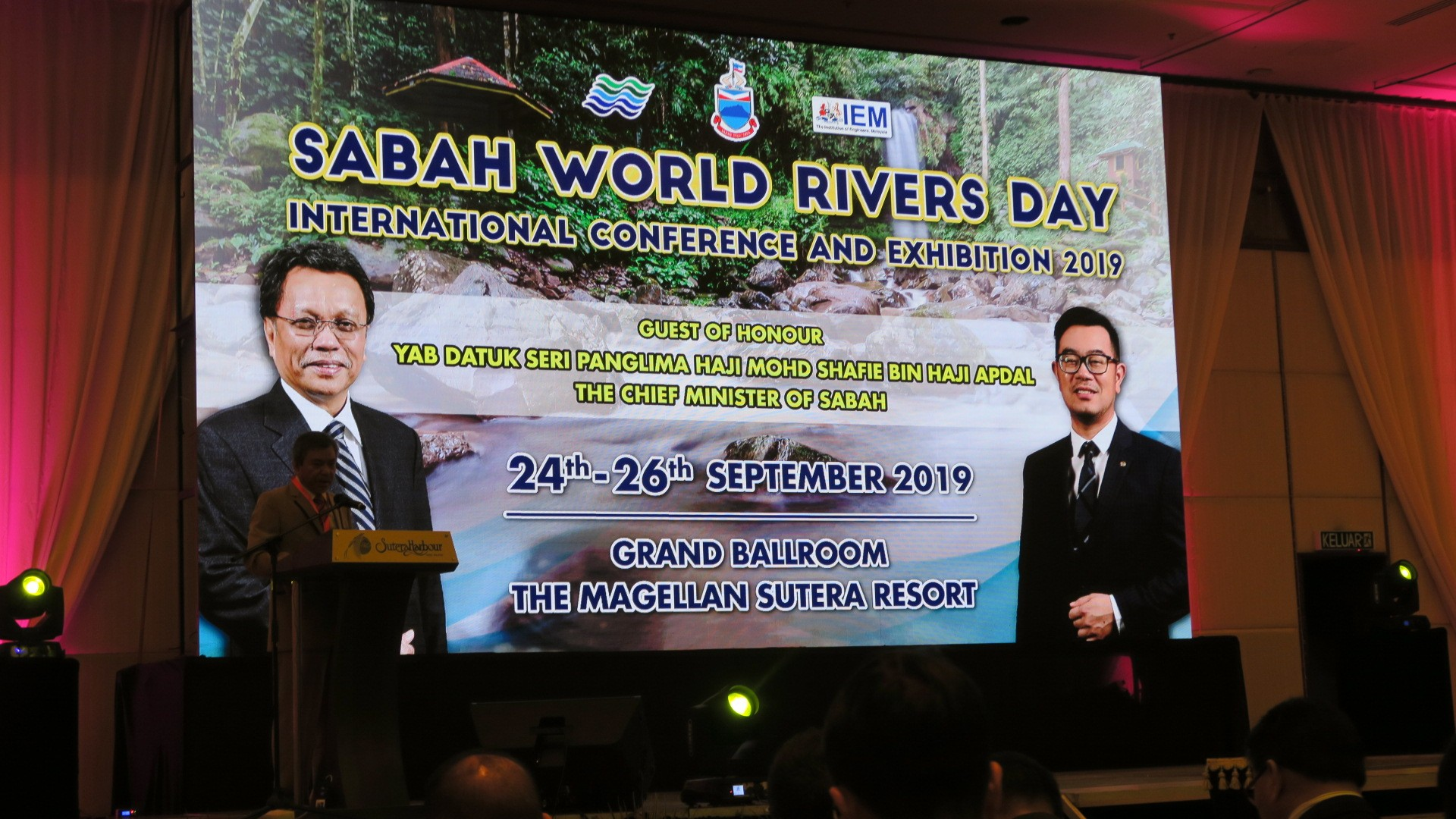 Sabah World Rivers Day International Conference and Exhibition.