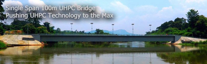 Single Span 100m UHPC Bridge - Pushing UHPC Technology to the Max